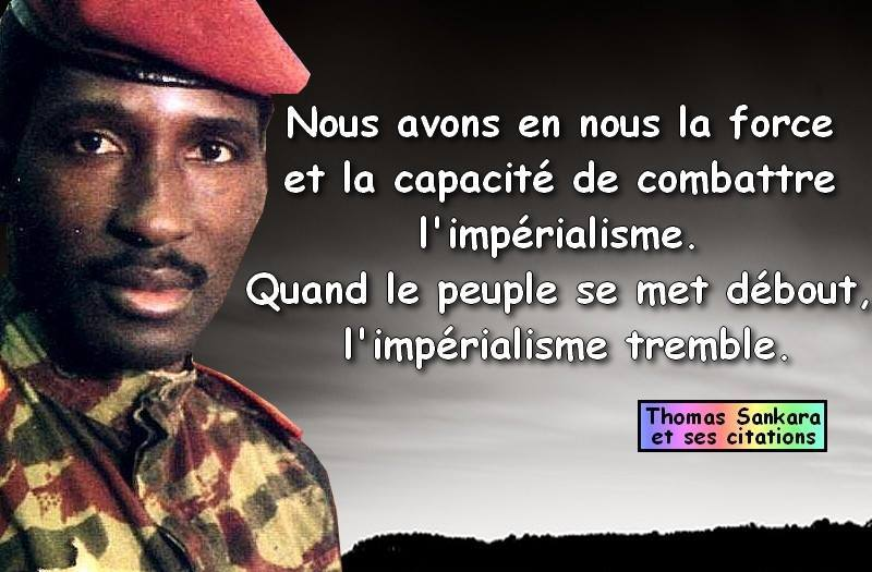 Encourageant Burkina Faso Assassinat De Thomas Sankara