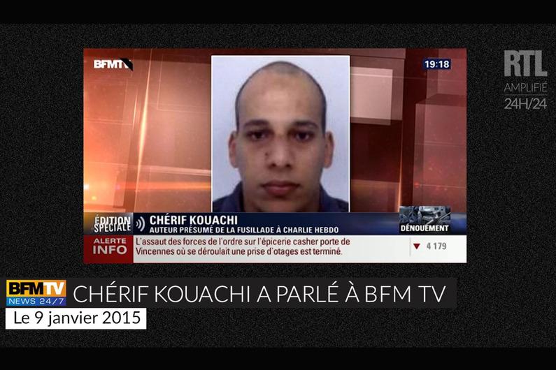 CHERIF KOUACHI BFM TV