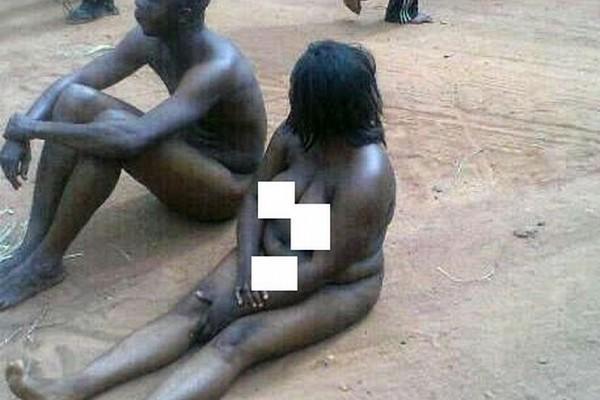 Couple attrapé avoir des relations sexuelles en public