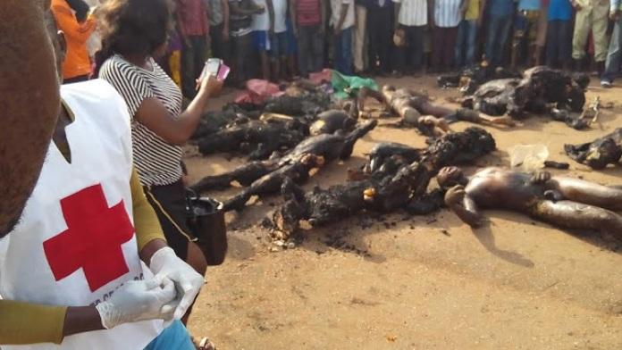 NIGERIA CAMION CITERNE EXPLOSION