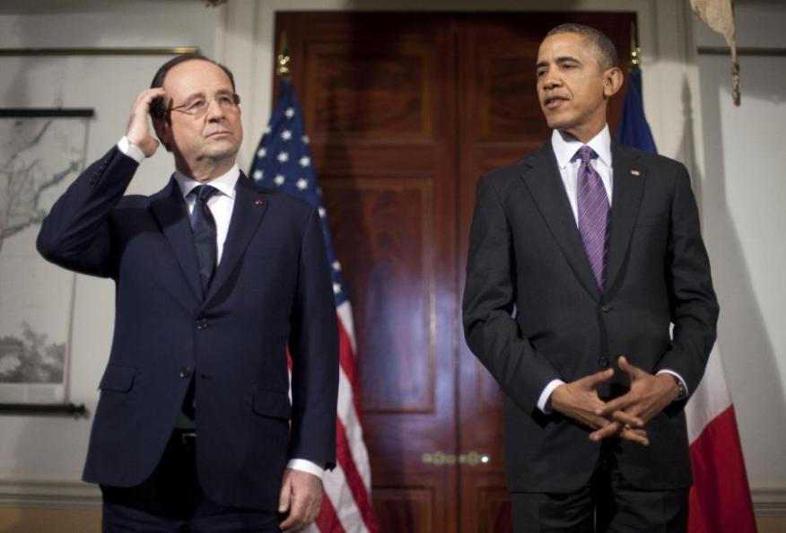 OBAMA HOLLANDE ESPION