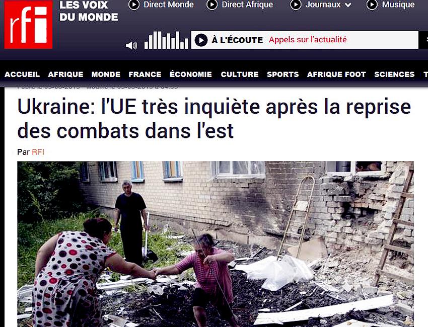 RFI MENSONGE UKRAINE