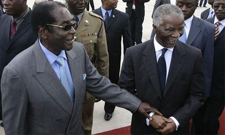 MUGABE THABO MBEKI