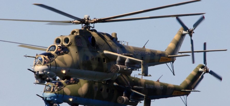HELICOPTERES d'ATTAQUE RUSSE