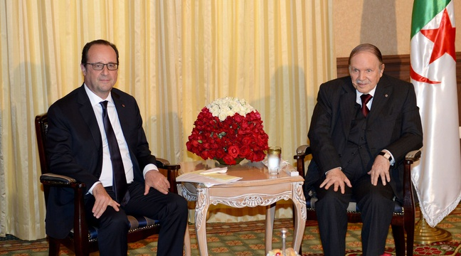 HOLLANDE ET BOUTEFLIKA