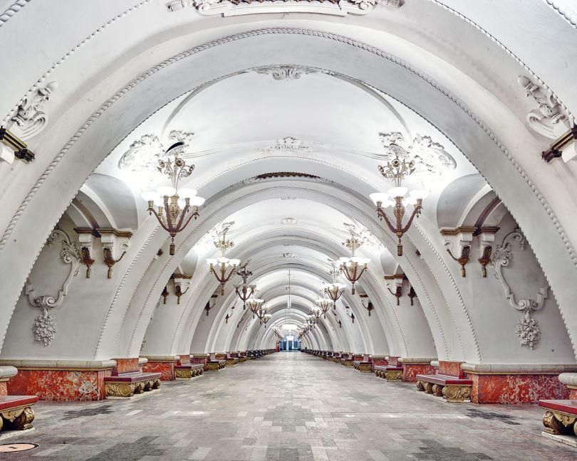 RUSSIE STATION METRO