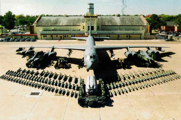 USA BOMBARDIER B-52 MER CHINE