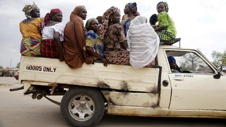 NIGERIA FEMME BOKO HARAM