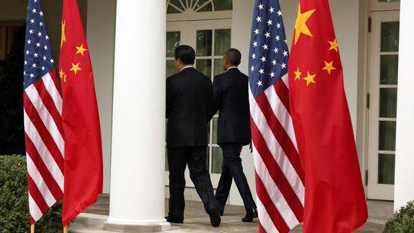 OBAMA XI JIN PING MER DE CHINE