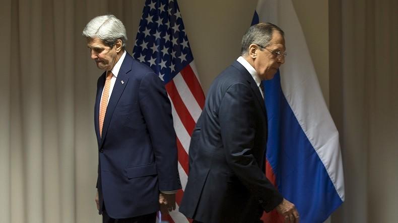 KERRY ET LAVROV USA-RUSSIE