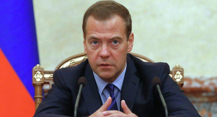 PREMIER MINISTRE RUSSIE DMITRY MEDVEDEV