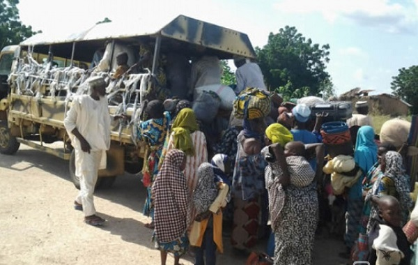 NIGERIA BOKO HARAM FEMME LIBEREE