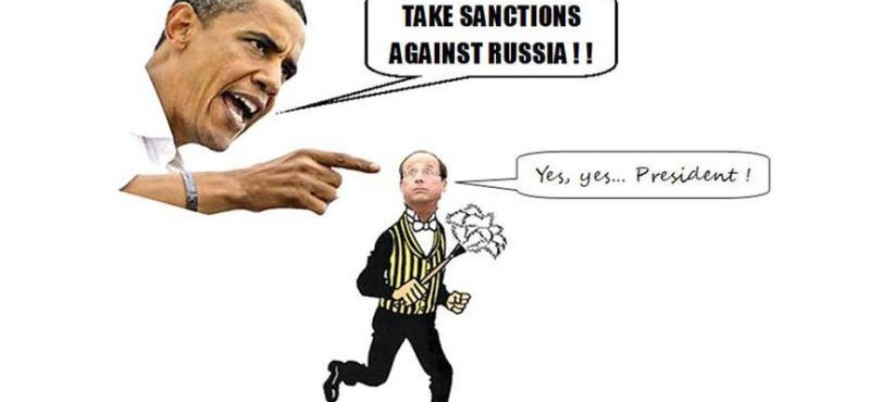 OBAMA HOLLANDE SANCTIONS