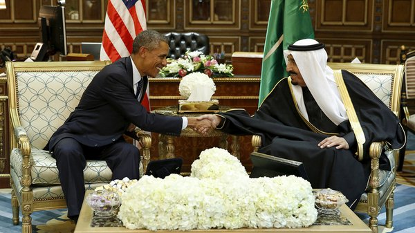 OBAMA ET ROI POURSUITE ARABIE
