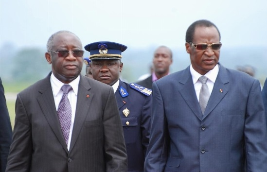 COMPAORE ET GBAGBO LAURENT APO