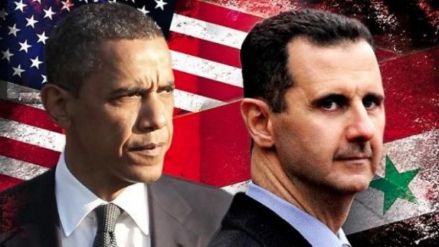 OBAMA ET ASSAD GUERRE